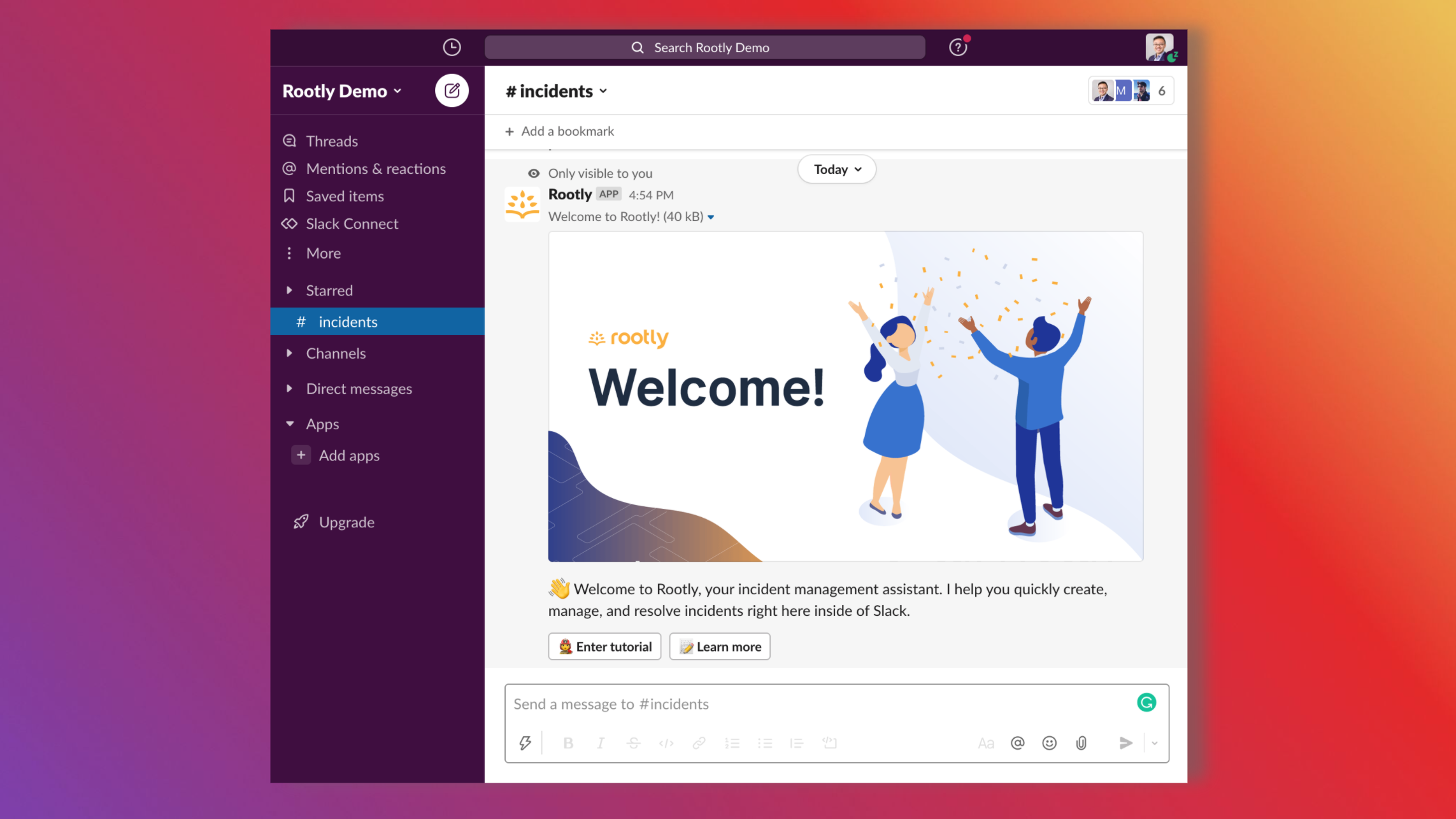 💌 Sharing Rootly with your Team